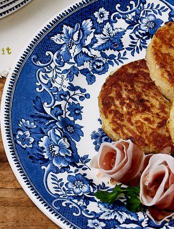 Rosti con speck e gorgonzola piccante